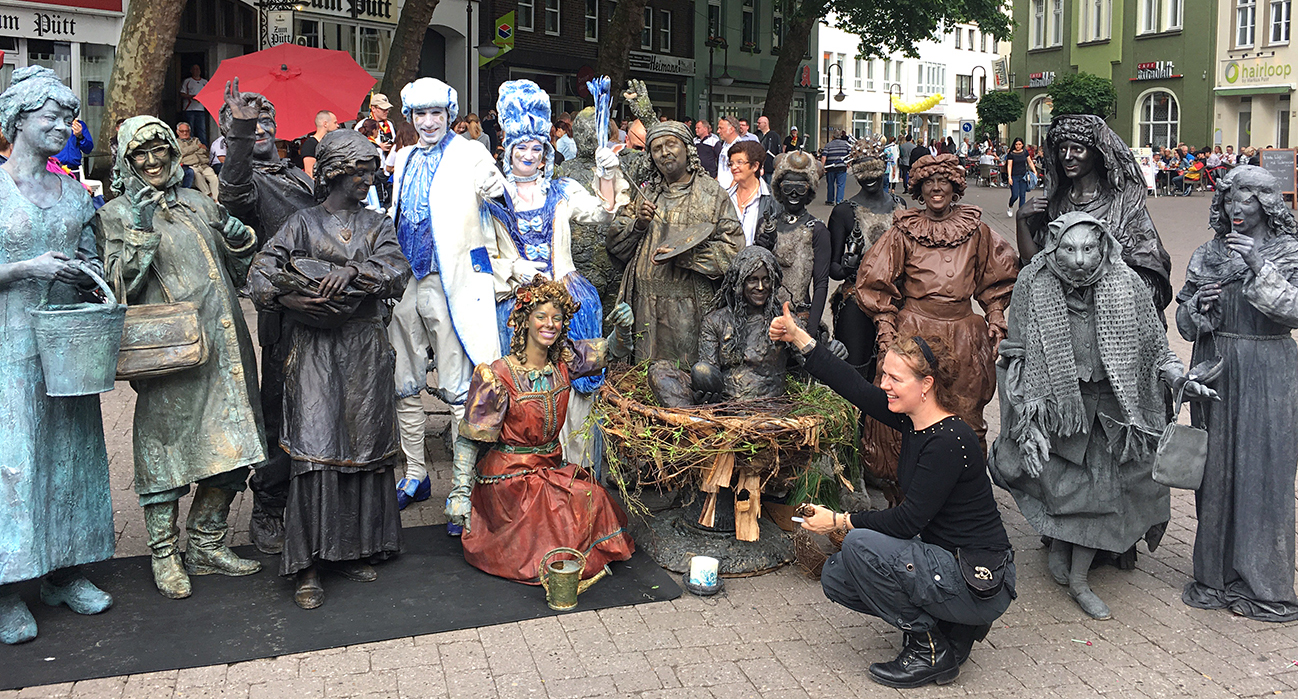 Team Living Sculptures - Living statues