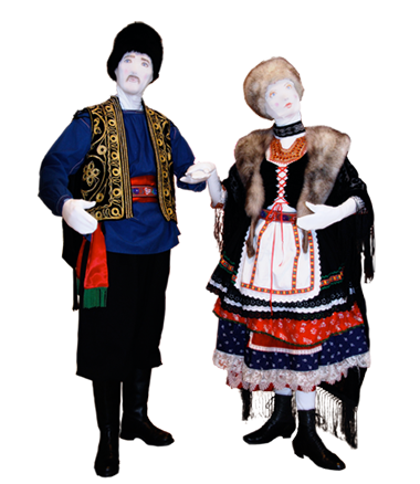 011 Animatie Folklorepoppen - Animation Folklore Dolls - Living Statue - Levend Standbeeld 00